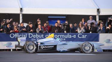 Formula E - The final test session