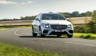 Mercedes E400d Estate review - front