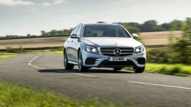 Mercedes E400d Estate review - front