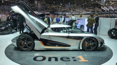 Koenigsegg One:1 supercar