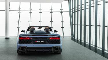 Audi R8 Spyder facelift - tail
