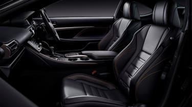 Lexus RC300h F Sport Black Edition – interior
