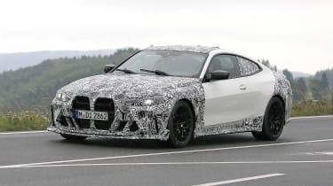 BMW M4 CSL spy 2021 – 14