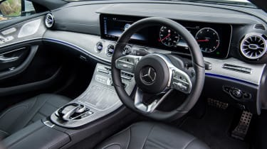 Mercedes-Benz CLS 400d interior