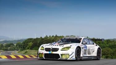 BMW M6 GT3 - front
