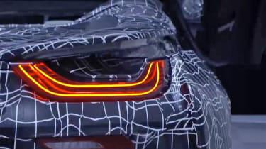 BMW i8 Spyder - teaser tail lights