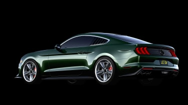 Ford Mustang Bullitt Steve McQueen edition - rear quarter