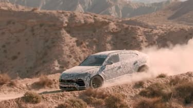 Lamborghini Urus Terra video – side