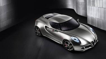 New Alfa Romeo 4C concept