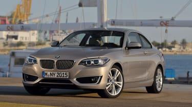 BMW 220d front