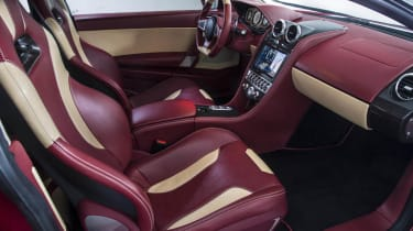 Exagon Furtive electric GT interior