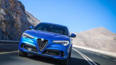 Alfa Romeo Stelvio QV drive - nose 1