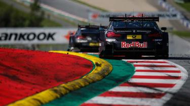 DTM Round 8 Austria - M4 rear