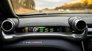 Ferrari GTC4 Lusso T - passenger screen