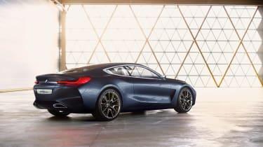 BMW 8-series concept - rear three quarter