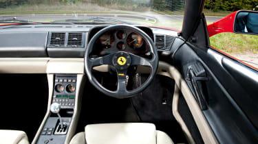 Ferrari 348 tB interior
