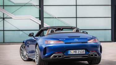 Mercedes-AMG GT C rear