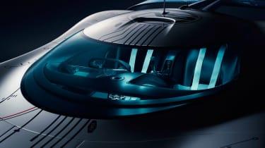 Jaguar Vision Gran Turismo SV Concept - seats