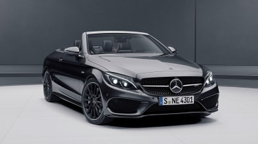 Mercedes-AMG C43 Cabriolet Night Edition - front three-quarter