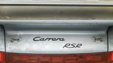 Porsche 911 Carrera RSR - rear badging