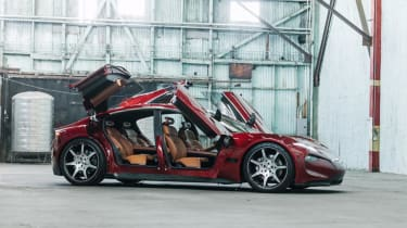 Fisker EMotion – side (doors up)