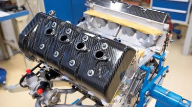 Koenigsegg Agera R engine in build