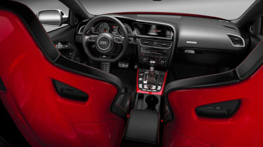 New Audi RS5 coupe interior