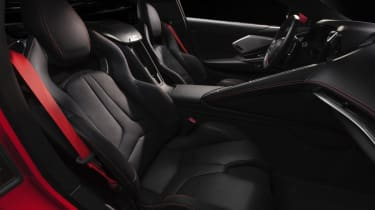 2020 Chevrolet Corvette C8 seats
