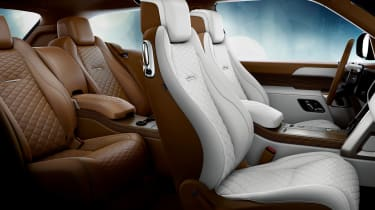 Range Rover Coupe SV - interior white