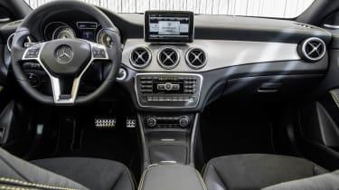 2013 Mercedes-Benz CLA250 interior dashboard