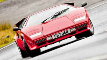 Lamborghini Countach drift