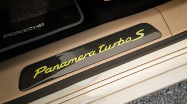 Porsche Panamera Turbo S E-Hybrid ride - sill plate