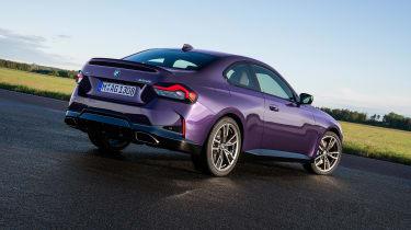 BMW 2-series 2021 – rear quarter static