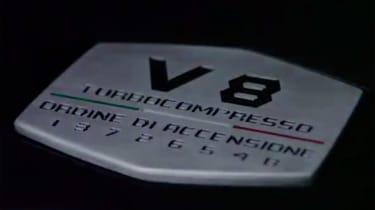 Lamborghini Urus – engine plaque