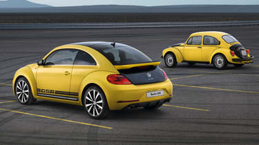 New Volkswagen Beetle GSR black and yellow