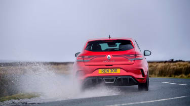 2021 Renault Megane RS300 DCT - rear splash