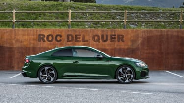 Audi RS5 - side profile
