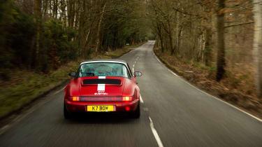 Everrati Porsche 964 – rear