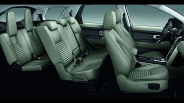 Land Rover Discovery Sport seven seats