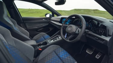 Volkswagen Golf R 2021 review - interior