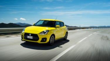 Suzuki Swift Sport – front quarter