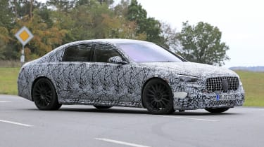 Mercedes-AMG S63 2021 spy front