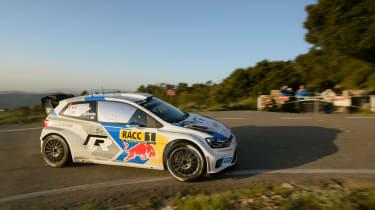 WRC Spain Ogier