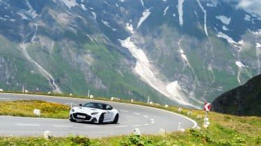 Aston Martin DBS Superleggera drive - cornering