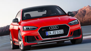 Audi RS5 - front