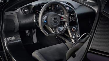 McLaren P1 purple – interior