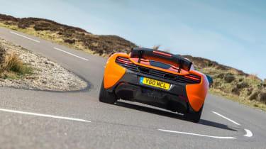McLaren 650S Spider - rear cornering
