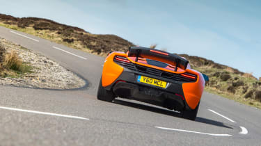 McLaren 650S Spider - rear cornering