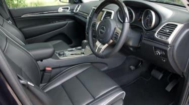 2012 Jeep Grand Cherokee 3.0 CRD interior