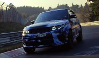 Range Rover Sport SVR Nurburgring record